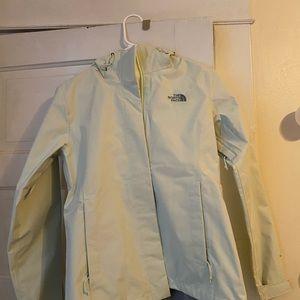 The North Face Mint Rain Jacket